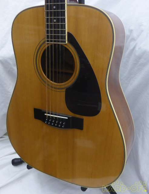 YAMAHA acoustic Model number L12-6 JAPAN beautiful rare EMS F S