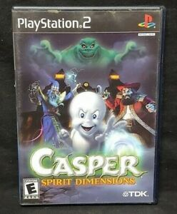 Casper: Spirit Dimensions - PS2 Playstation 2 Game Tested Working Complete