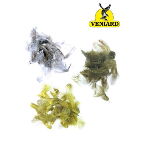 Dyed 2g ** 2019 STOCKS ** Veniards English Partridge Mixed Hackles