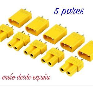 XT30-Conector-5-pares-10-unidades-lipo-esc-dron-conector-bateria