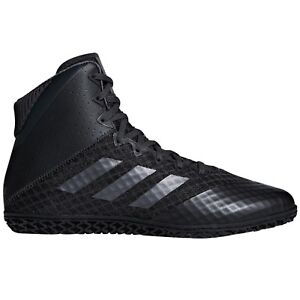 Details about Adidas Mat Wizard IV Men's Wrestling Shoes Boxing MMA Black Combat Sports Boots