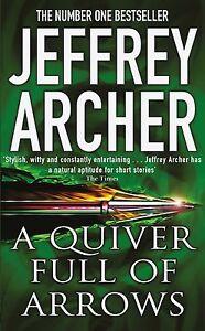 Jeffrey-Archer-A-Carquois-Complet-de-Fleches-Tout-Neuf-Format-Envoi