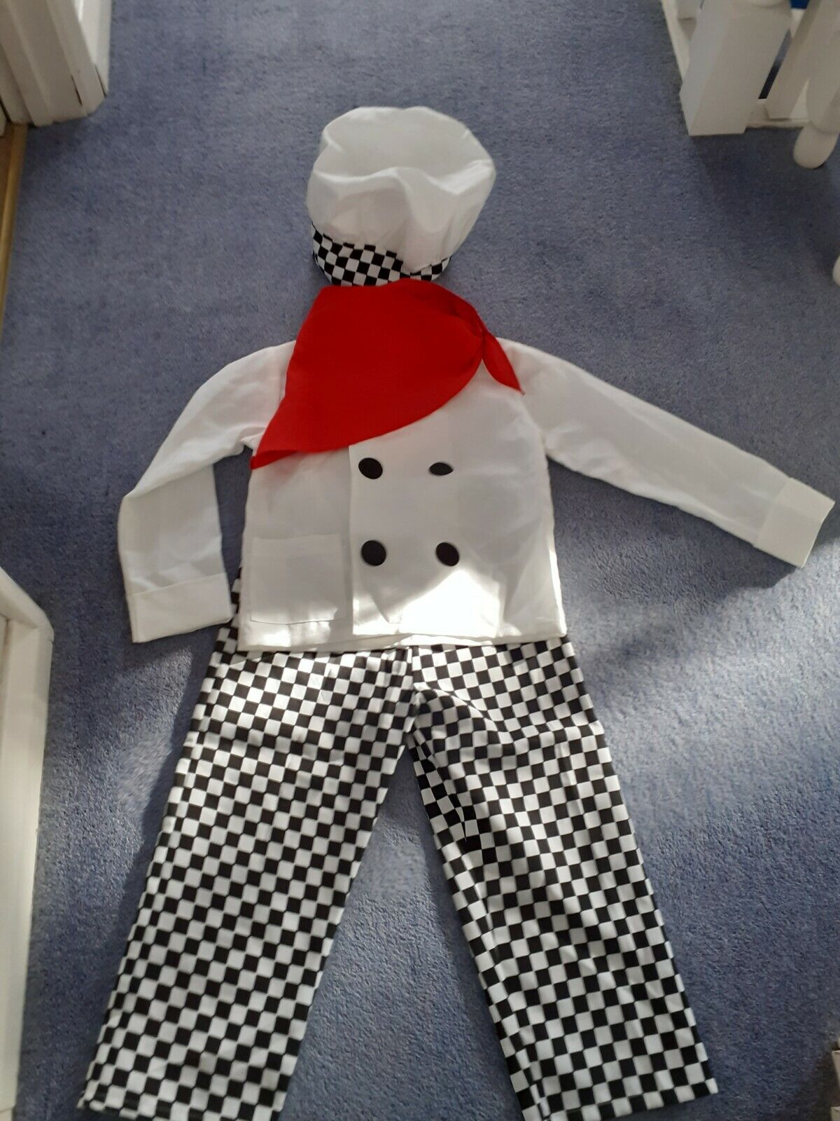 Chefs Costume. One Size.