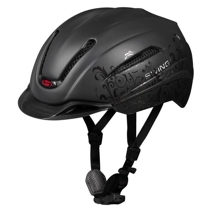 SWING Reithelm Reithelm SWING H12 Ride&Bike Reit-Helm Fahrradhelm Sicherheitshelm Schutzhelm 13e466