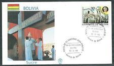 1988 VATICANO VIAGGI DEL PAPA BOLIVIA SUCRE - SV2