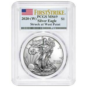 2020-W-1-American-Silver-Eagle-PCGS-MS69-First-Strike-Flag-Label