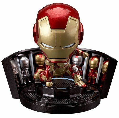 Nendgoldid 349 Iron Man Marke 42 Heroâ ™ S Edition + Hall Of Rüstung Set Figur