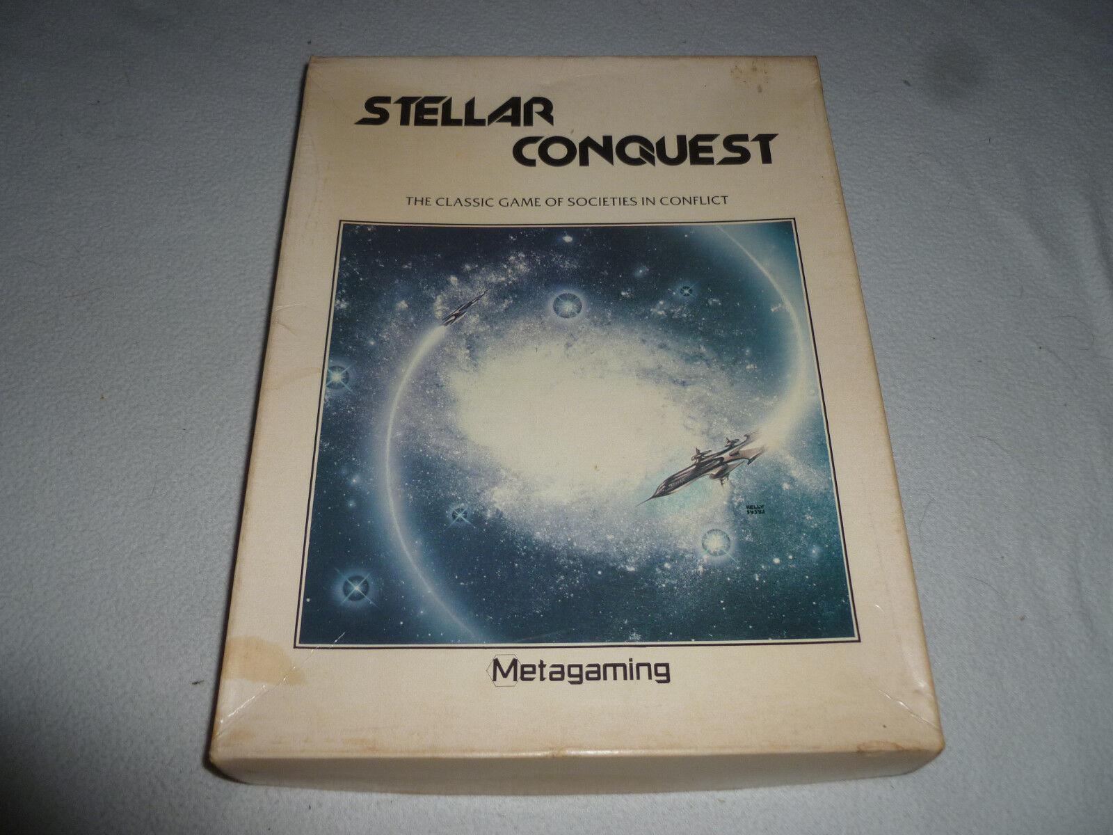 1979 conquista estelar clásico juego de sociedades en conflicto Metagaming ENLOMADOR