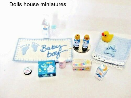 Baby Bagnetto Bambino Dollhouse Miniatures