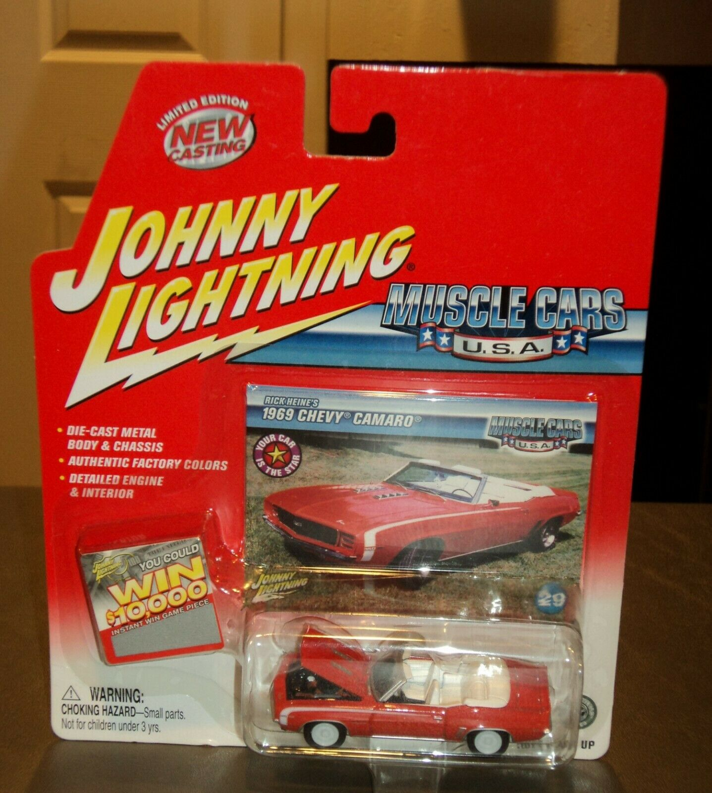 Johnny  bianca Lightning  Muscle Cars USA 69 Chevy Camaro Chase 1969 Rick Heine's