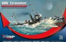 Un 86 torpedoboote tipo a/iii/56 - MARINA TEDESCA Torpediniera 1/350 Mirage