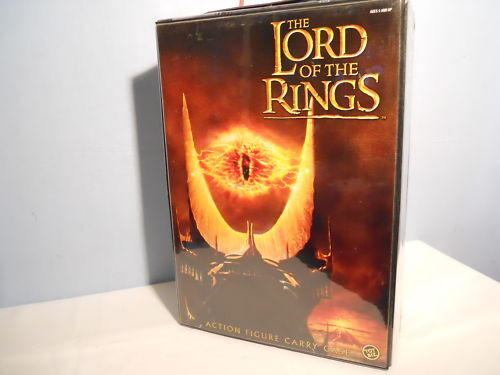 LORD OF THE RINGS LE SEIGNEUR DES ANNEAUX COFFRET CARRY CASE COLLECTOR