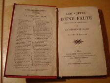 Comtesse Dash Les suites d'une faute fin des amours de la belle Aurore 1870