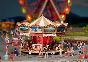 Faller-140316-h0-enfants-Carrousel