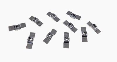 Weldable Stamping NR 3816 10 Pack 3//8-16 Floating Cage Nut