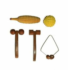Acupressure Wooden Full Body Massager (Acupuncture Kit) Best For Health set of 5