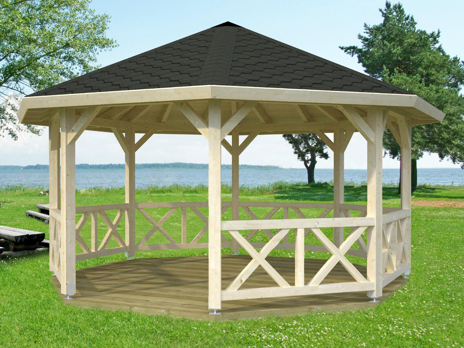 gartenpavillion betty 4 bessie durchmesser 465 cm 12x12. Black Bedroom Furniture Sets. Home Design Ideas