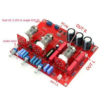 Assembled Tube 6N1 tone Pre-amplifier board volume adjusted