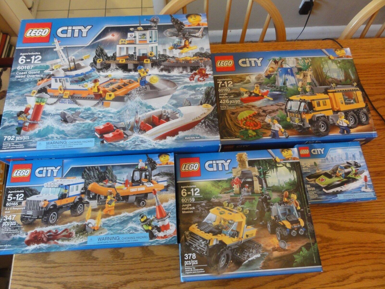 rödUCERAD Splitter New LEGO CITY byggnad Sets 60159, 60160, 60165, 60167, 60114