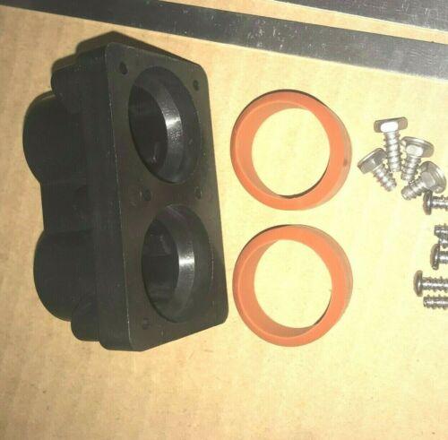 DOM Heater 2 Barrell Watkins HotSpring Limelight Spas 78077 Heater End Cap