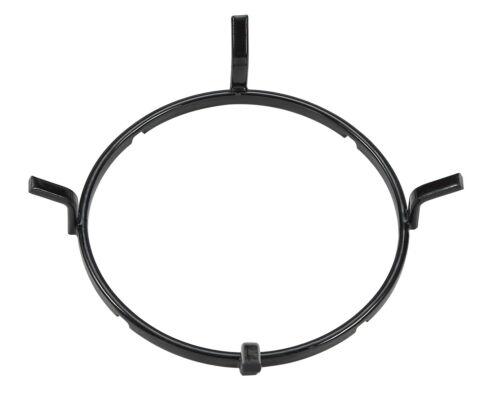 Millar noir émail wok support 17cm de diamètre socle pour table de cuisson gaz