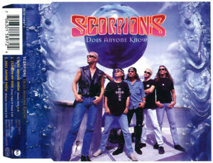 Scorpions-Maxi-CD-Does-Anyone-Know-Germany-M-M