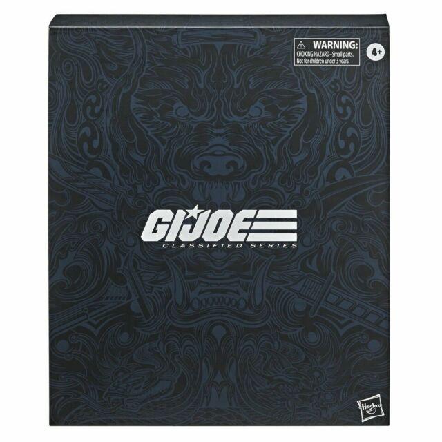 "🔥G.I. Joe Classified Series Snake Eyes Deluxe 6"" Action Figure Hasbro Pulse🔥"