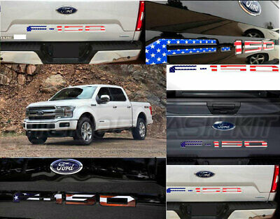 SUPAREE Tailgate Insert Letters for F150 2018-2020 Matte Black 3D Raised Tailgate Decal Letters