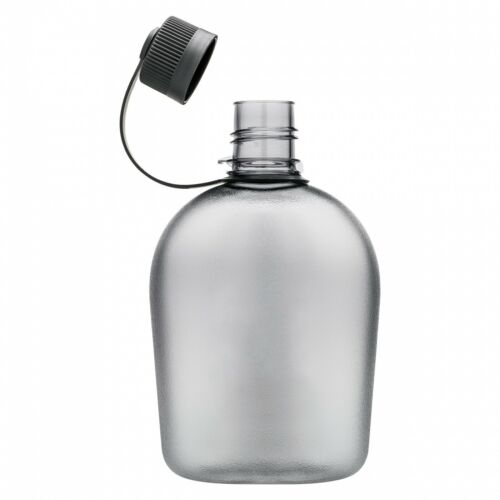 Feldflasche Trinkflasche Tritan Kunststoff in Nierenform bpa-frei 1 Liter