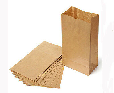 10/20x Sale New Small Kraft Paper Gift Bags Vintage Wedding Brown Paper Bags LO