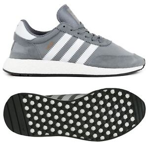 adidas-ORIGINALS-INIKI-BOOST-TRAINERS-MEN-039-S-WOMEN-039-S-SHOES-GREY-B-GRADE