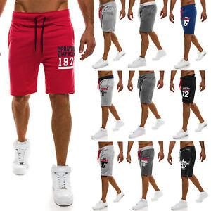 92971c7ed6d56c Das Bild wird geladen OZONEE-J-STYLE-Herren -Shorts-Sportshorts-Jogging-Kurzhose-
