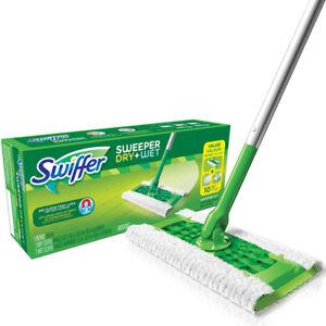 Swiffer-92814-Sweeper-Dry-Wet-2-In-1-Starter-Kit-for-Sweeping-amp-Mopping