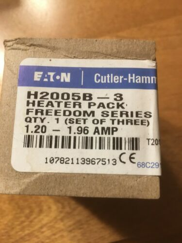 Cutler Hammer Heater Pack H2005B-3 Circuit breaker heater pack
