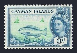 Cayman 141, MNH. Michel 142. QE II, 1953. Parrot fish.