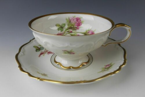 Edelstein China MOSS ROSE Cup /& Saucer Set s EXCELLENT