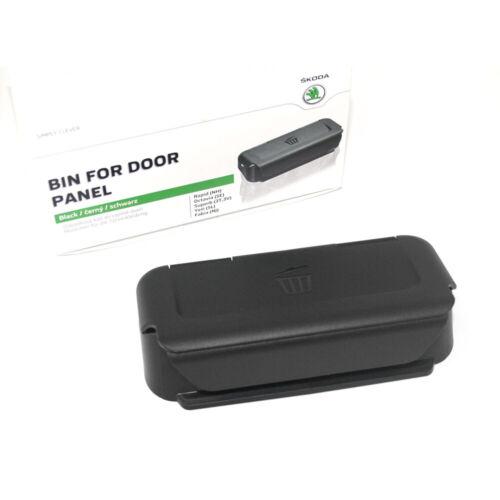 Original Skoda Abfalleimer Türverkleidung Abfallbehälter Tür Behälter schwarz
