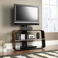 Sauder Studio Edge Corsair Black Cherry Tv Stand With Mount For Tvs