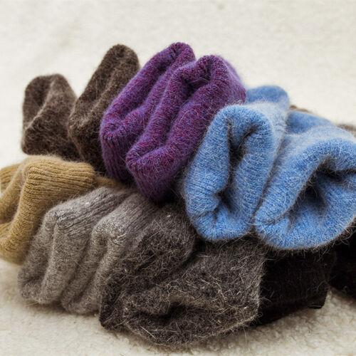 Angora Cashmere Women Girls Socks Luxury Warm Wool sock 1 Pairs Xmas Gifts PSGF