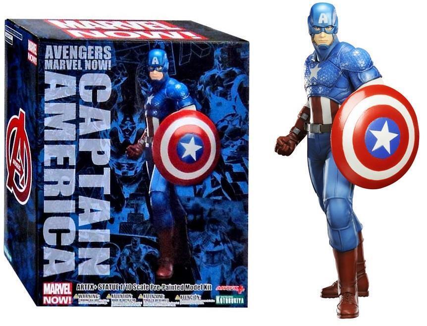 Kotobukiya Captain America Marvel The Avengers Now ArtFX Figure Statue NEW