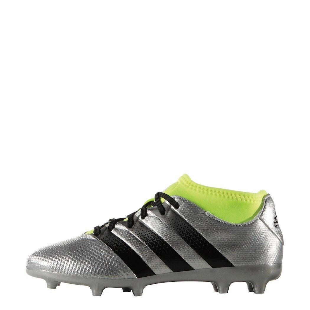 Adidas Ace 16.3 primemesh FG junior con tobillos calcetines plata [aq3443]
