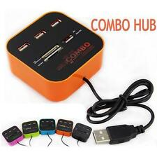 Technotech All In One Combo Multi-card Memory Card Reader & 3 Port USB HUB 2.0