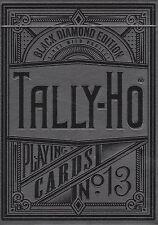 Black Diamond Tally Ho Playing Cards (Kings Wild - Jackson Robinson)