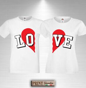 T Shirt Love Couple Gift Idea Valentine S Day Anniversary Innamorati
