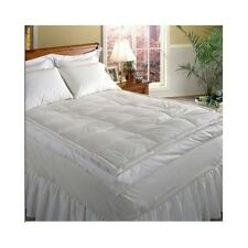 down mattress topper top feather bed king hotel grand 5 inch featherbed pad