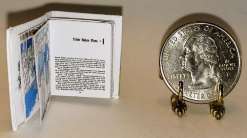 1:12 SCALE MINIATURE BOOK THE MARSHLAND MYSTERY  TRIXIE BELDEN DOLLHOUSE SCALE