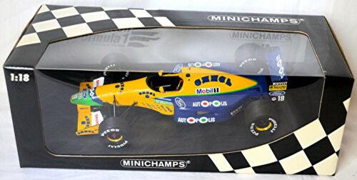 Benetton Ford B191 Formel1 1991 #19 M Schumacher 1:18 Minichamps 100910119
