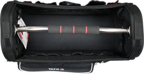 Professionnel Outil Sac Boîte à outils 11 Compartiments Poignée Électricien Sac 52x24x33cm