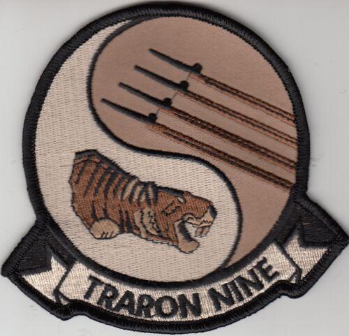 VT-9 TIGERS DESERT COMMAND CHEST PATCH