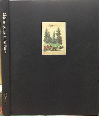 (Musica) MOZART IN VIAGGIO VERSO PRAGA  di E. Mörike - Olivetti 1992